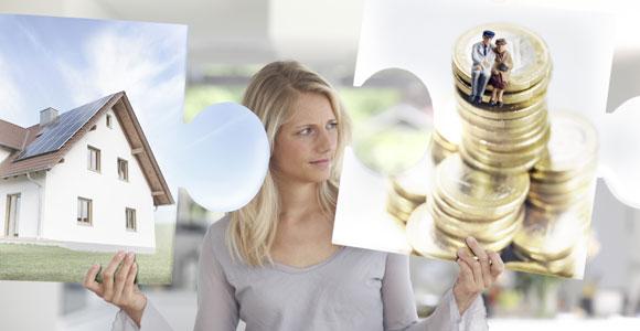 Anstelle der Riester-Rente doch lieber einen Wohn-Riester? Der Wechsel ist problemlos moeglich.