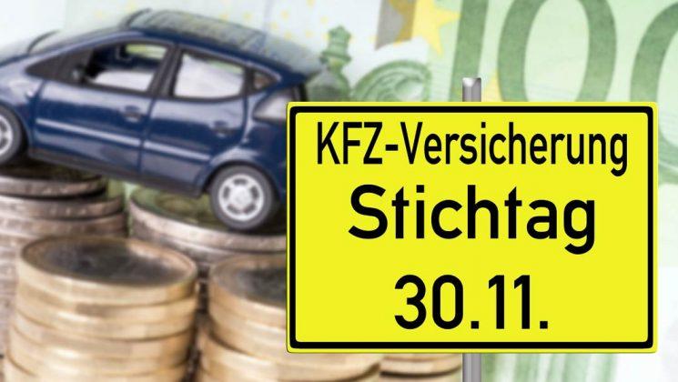 KFZ Versicherung Wechsel. KFZ Stichtag
