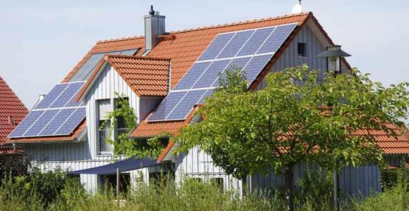Das Prinzip Ökostrom. photovoltaik-haus-oekostrom