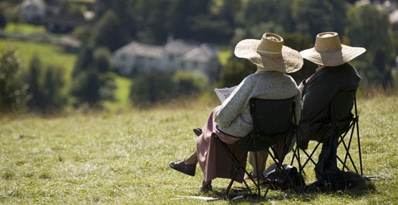 Die Ruerup-Rente bietet eine finanzielle Sicherheit im Alter.