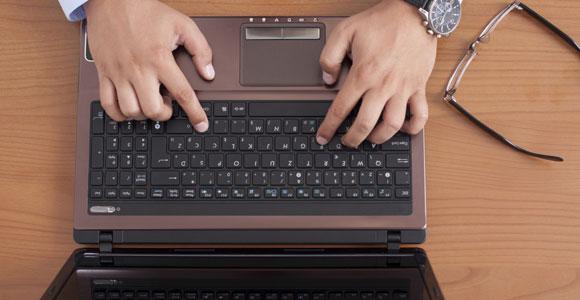 Der Großteil der Bewerbungen wird mittlerweile per E-Mail versendet.