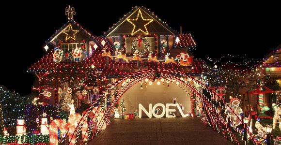 In puncto Weihnachtsdekoration gehen die Meinungen weit auseinander.