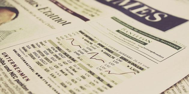 Rund zehn Prozent der Deutschen investieren in Aktien.