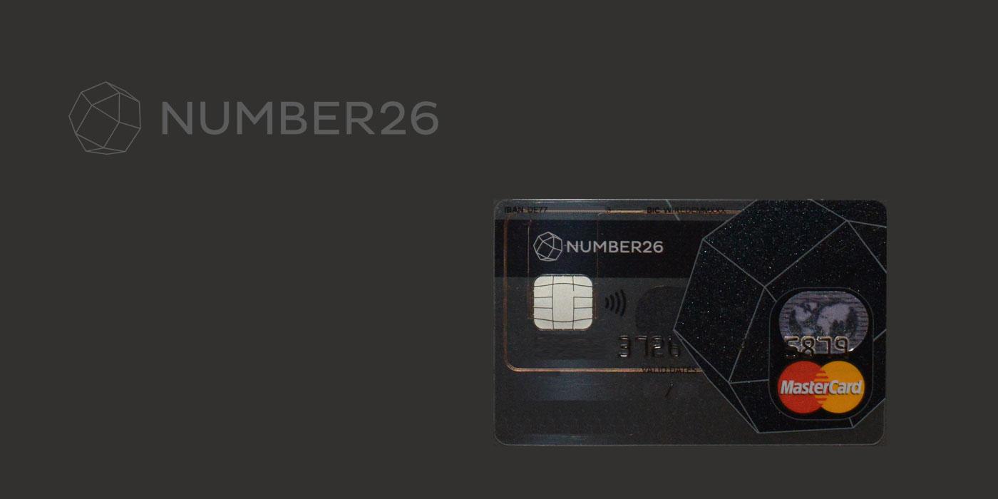 number26 Kreditkarte
