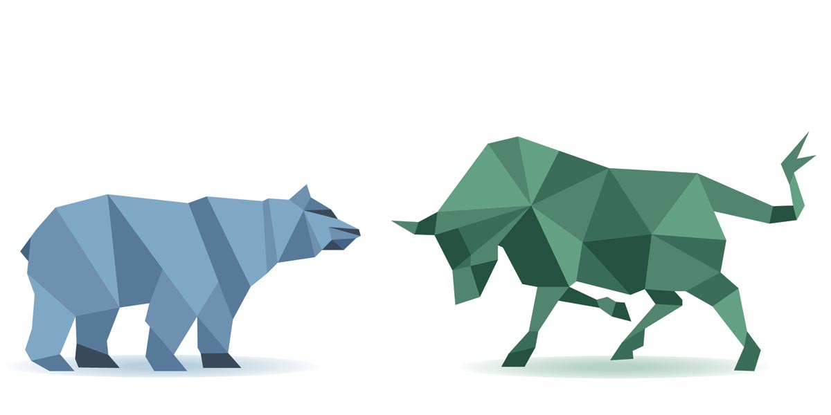 Geldanlage Bullenmarkt Bärenmarkt