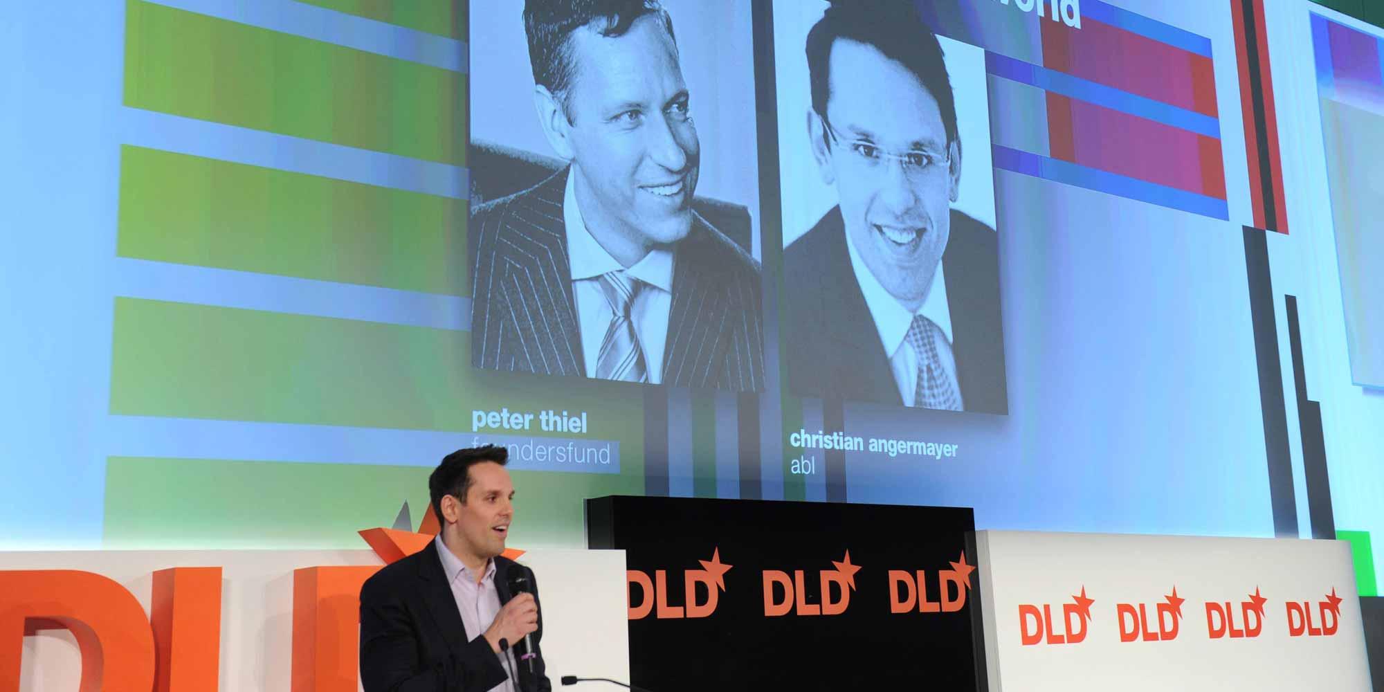 Peter Thiel - Ein Erfolgs-Investor auf Streifzug in Deutschlands Start-up Szene