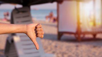 Urlaub: Reise-Mängel nach der Frankfurter Tabelle