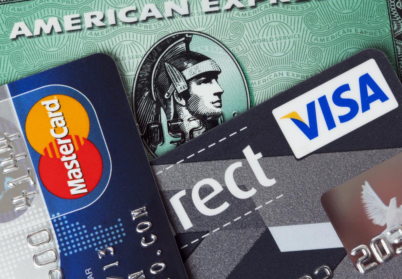 Die bekanntesten Kreditkartenherausgeber