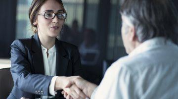 Einige Banken bieten besondere Kundenbetreuung fuer Firmen